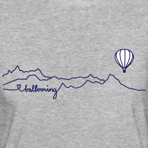 ballooning mountains T-Shirts - Frauen Bio-T-Shirt