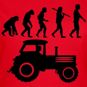 Traktor Evolution T-Shirts - Frauen T-Shirt