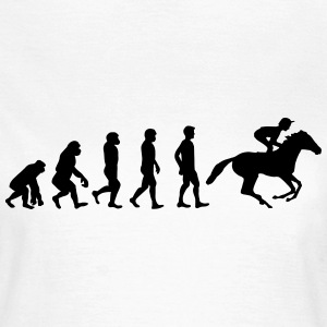 Hest evolution - Dame-T-shirt