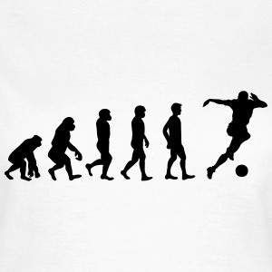 Fotboll evolution - T-shirt dam