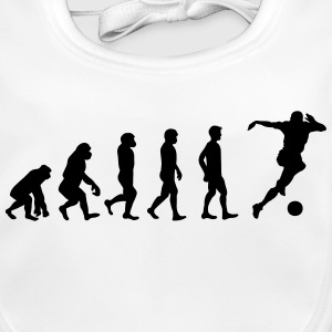 Fussball Evolution - Baby Bio-Lätzchen