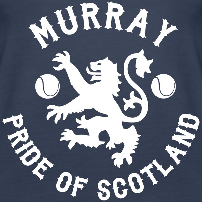 Murray - Scottish Pride. Ladies Navy Vest.