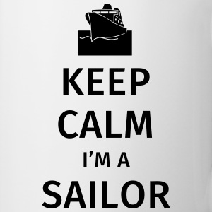 Keep Calm I'm a Sailor Tazze & Accessori - Tazza