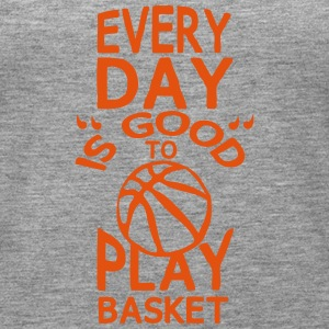 play basketball citation humour every day Débardeurs - Débardeur Premium Femme