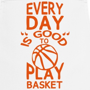 Play basketball quote humor every day  Aprons - Cooking Apron