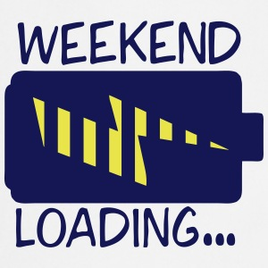 weekend loading citation pile charge Tabliers - Tablier de cuisine