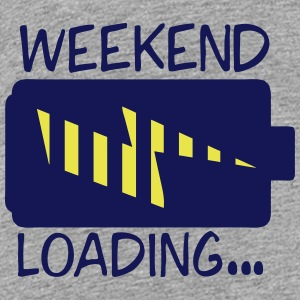 weekend loading citation pile charge Tee shirts - T-shirt Premium Ado