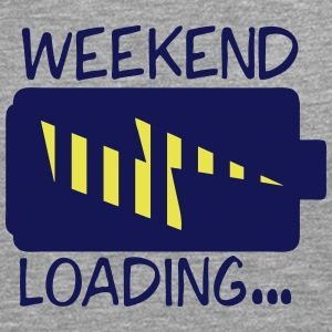 weekend loading citation pile charge Manches longues - T-shirt manches longues Premium Homme