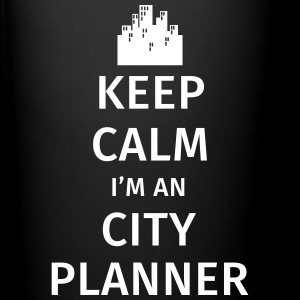 Keep Calm I'm an City Planner Mugs & Drinkware - Full Colour Mug