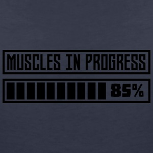 Muscles in the swing workout S8gnr T-Shirts - Women's V-Neck T-Shirt