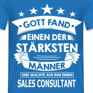 sales_consultant T-Shirts - Männer T-Shirt