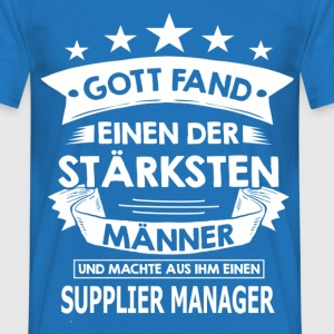 supplier_manager T-Shirts - Männer T-Shirt