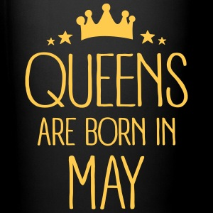 Queens Are Born In May Bouteilles et Tasses - Tasse en couleur