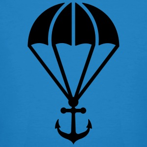 Parachute with anchor Tee shirts - T-shirt bio Homme
