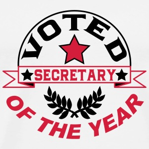 Voted secretary of the year T-Shirts - Men's Premium T-Shirt