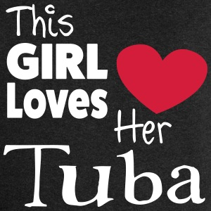 This Girl Loves Her Tuba Sudaderas - Chaqueta con capucha premium mujer