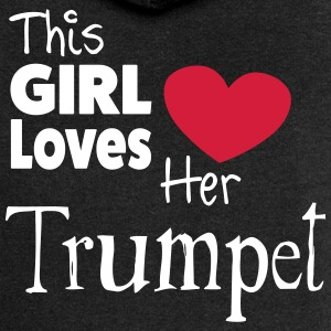 This Girl Loves Her Trumpet Sudaderas - Chaqueta con capucha premium mujer