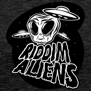 Alien design Black - Mannen Premium T-shirt