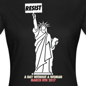 A day without a woman march - Women's T-Shirt