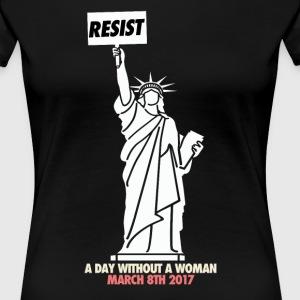 A day without a woman - Women's Premium T-Shirt