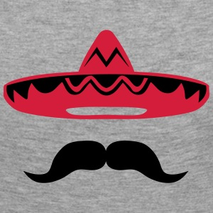 Mexican mustache hat 200 Long Sleeve Shirts - Women's Premium Longsleeve Shirt