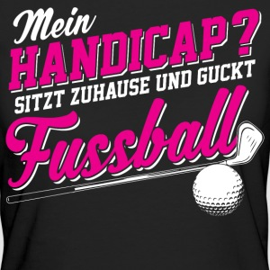 Handicap T-Shirts - Frauen Bio-T-Shirt