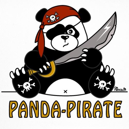 Panda Pirate, Bandana Tête de mort, Sabre