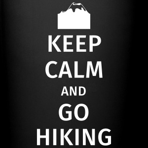 Keep Calm and Go Hiking Bouteilles et Tasses - Tasse en couleur