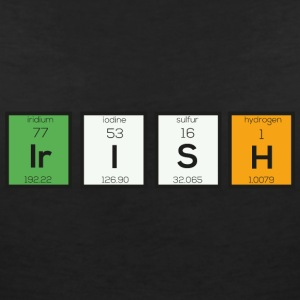 Irish chemical elements Sy4ra T-Shirts - Women's V-Neck T-Shirt