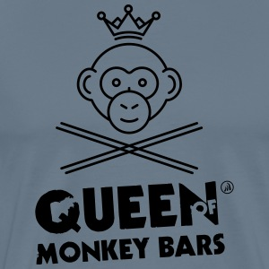 Queen of Monkey Bars - T-shirt Premium Homme