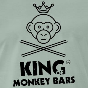 King of Monkey Bars - T-shirt Premium Homme