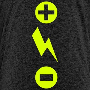 More less energy flash symbol Shirts - Kids' Premium T-Shirt
