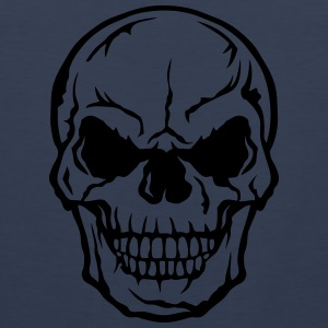 Skull halloween 105 Sports wear - Men's Premium Tank Top