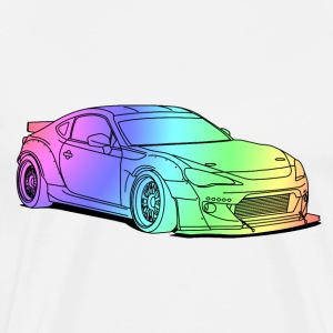 BRZ Colourful Tee shirts - T-shirt Premium Homme