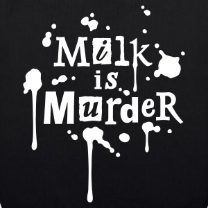 BIO-Stofftasche 'MILK is Murder' WR - EarthPositive Tote Bag