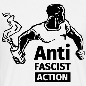 Anti-Fascist Action Camisetas - Camiseta hombre