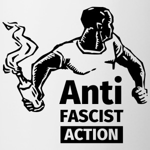 Anti-Fascist Action Mugs & Drinkware - Mug
