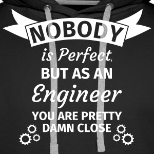 Nobody is Perfect But as An Engineer You are Prett Tröjor - Premiumluvtröja herr