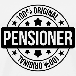pensionering / pensionist / pension / boarder T-shirts - Herre premium T-shirt
