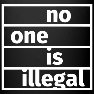 No One is Illegal Tazze & Accessori - Tazza monocolore