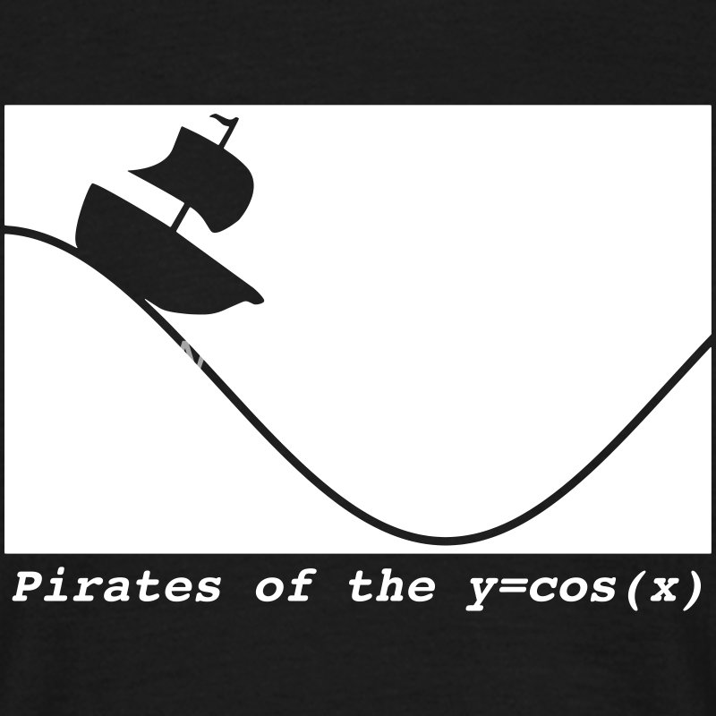pirates of the cosine T-Shirts - Männer T-Shirt