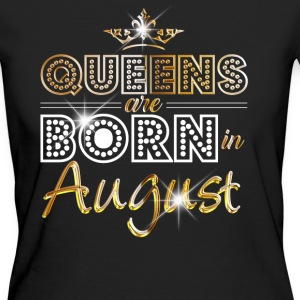 August - Queen - Birthday - 2 T-Shirts - Frauen Bio-T-Shirt