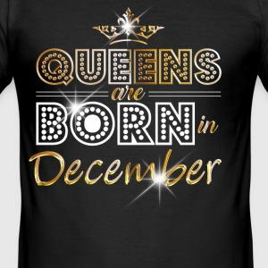 December - Queen - Birthday - 2 Tee shirts - Tee shirt près du corps Homme