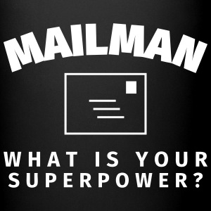 Mailman - What is Your Superpower? Bouteilles et Tasses - Tasse en couleur
