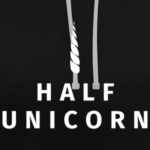 Half Unicorn Sweat-shirts - Sweat-shirt contraste