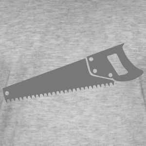 Wood saw 1 T-Shirts - Men's Vintage T-Shirt
