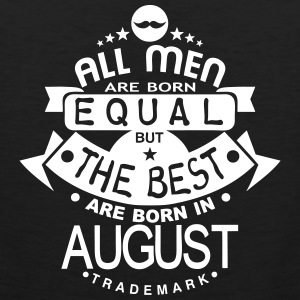 august men equal best born month logo Ropa deportiva - Tank top premium hombre