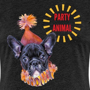 French Bulldog Party T-Shirts - Women's Premium T-Shirt