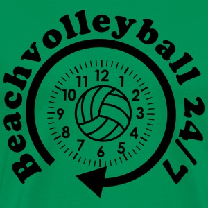 VolleyballFREAK Beachvolleyball 24/7 MP T-Shirts - Männer Premium T-Shirt