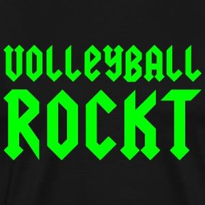 VolleyballFREAK Volleyball rockt MP T-Shirts - Männer Premium T-Shirt
